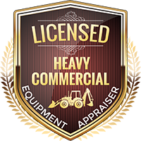 Licensed Heavy Commercial Equipment Appraiser Shield