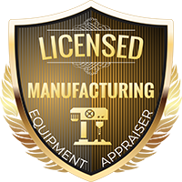 Licensed Manufacturing Equipment Appraiser Shield