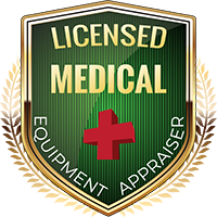 Licensed Medical Equipment Appraiser Shield