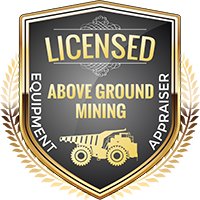 Licensed Mining Above Ground Equipment Appraiser Shield