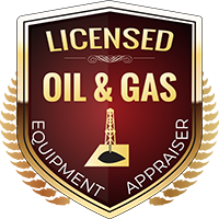 Licensed Oil & Gas Equipment Appraiser Shield