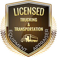 Licensed Trucking & Transportation Equipment Appraiser Shield