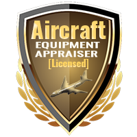 Licensed Aircraft Equipment Appraiser Specialty Shield