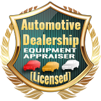 Licensed Automotive Dealership Equipment Appraiser Specialty Shield