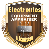 Licensed Electronics Equipment Appraiser Specialty Shield
