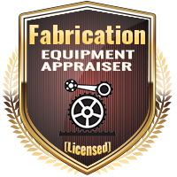 Licensed Fabrication Equipment Appraiser Specialty Shield