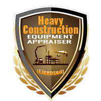 Licensed Heavy Construction Equipment Appraiser Shield