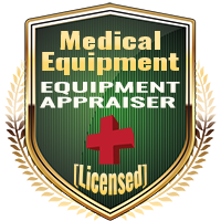 Licensed Medical Equipment Appraiser Specialty Shield