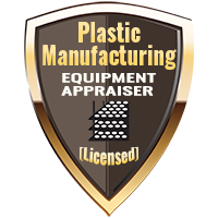 Licensed Plastic Manufacturing Equipment Appraiser Specialty Shield