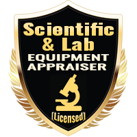 Licensed Scientific & Lab Equipment Appraiser Specialty Shield