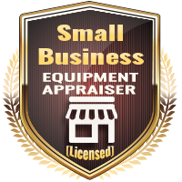 Licensed Small Business Equipment Appraiser Specialty Shield