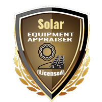 Licensed Solar Equipment Appraiser Specialty Shield